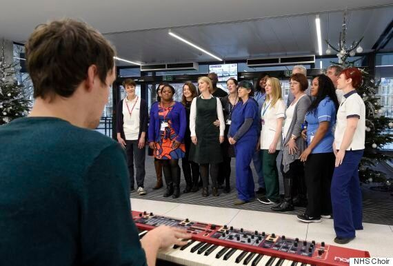 NHS Choir Beats Justin Bieber To Christmas Number One With Coldplay/Simon And Garfunkel Mash 'A Bridge...