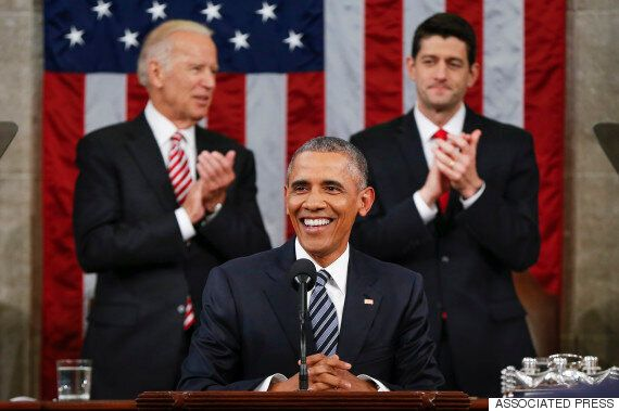 Barack Obama Uses Final State Of The Union To Mock Climate Change Deniers, Dismember Donald