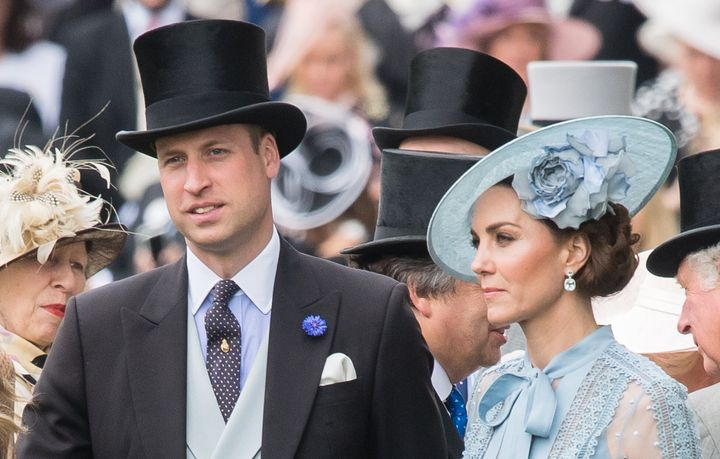 The Duke and Duchess of Cambridge attend Day 1 of Royal Ascot on June 18 in Ascot, England.