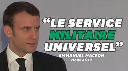 Macron promettait bien un service