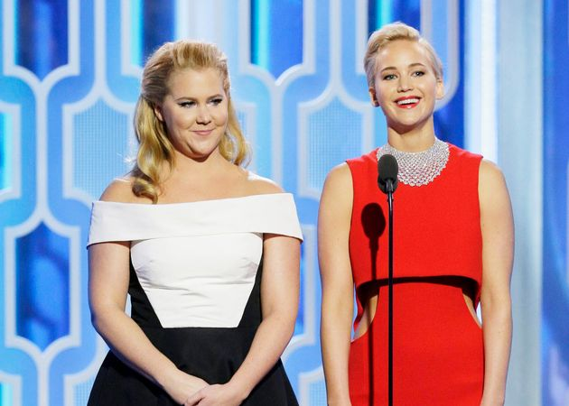 BFFs Amy Schumer and Jennifer Lawrence are going through changes since Schumer's baby was