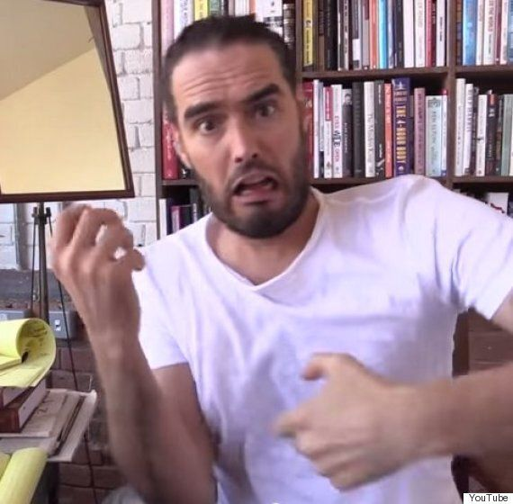 Russell Brand Says Terrorism Is Created By Climate
