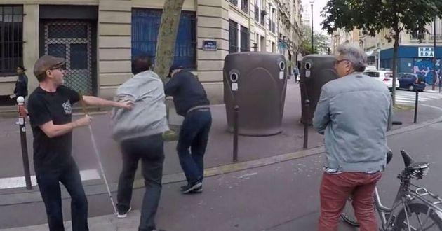 La Fédération des aveugles et amblyopes de France avait dénoncé une agression...