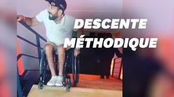 Le tennisman paraplégique Michaël Jeremiasz surprend avec ses vidéos