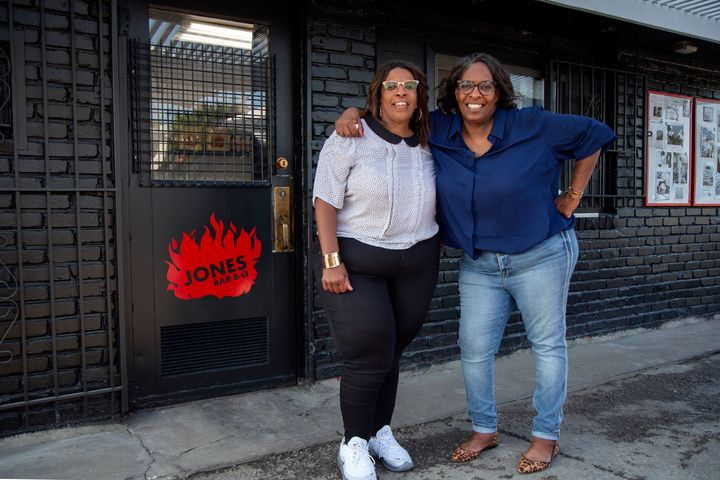 "Deborah ""Little"" (left) and Mary ""Shorty"" Jones gained widespread popularity after being featured on Season 3 of ""Queer Eye."""