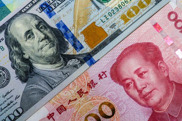 Billetes de dólar y
