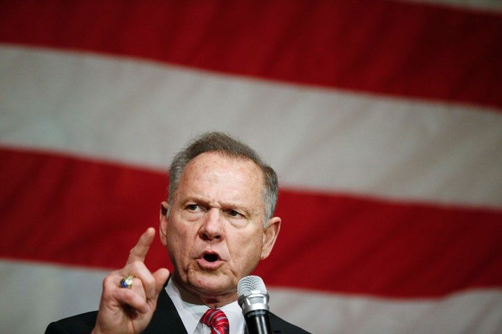 Roy Moore is running for the U.S. Senate again.