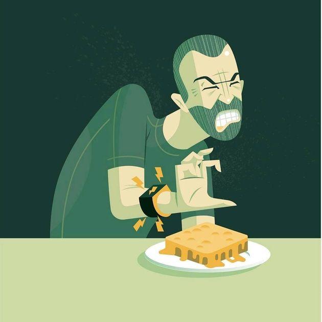 Pulseira que dá choque quando você come demais promete acabar com maus