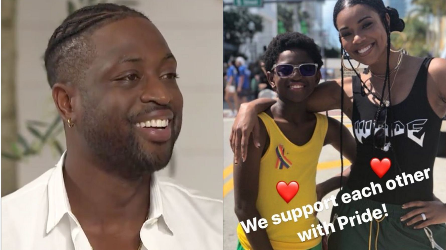 Dwyane Wade Says It's 'My Job As A Father' To Support Son