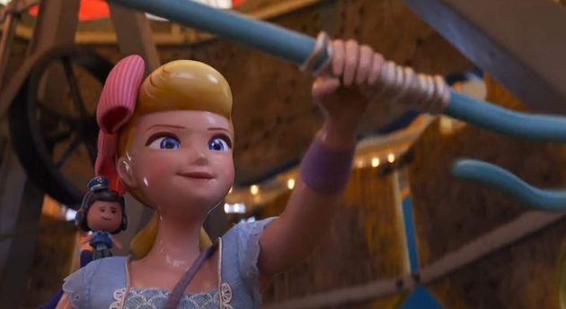 A pastora Betty ganha um papel de bem mais destaque em Toy Story
