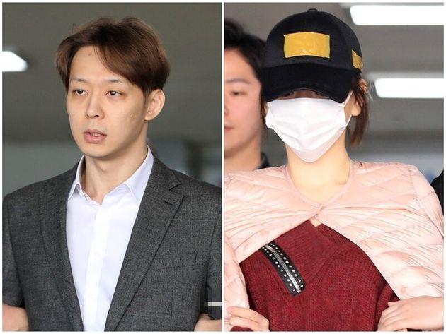 (왼쪽부터)마약 투약 혐의로 재판을 받고 있는 박유천과