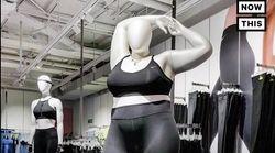 """ナイキが導入した""""大きいサイズ""""の女性マネキンに賛否両論。マネキンが痩せ過ぎていると物議を醸す"""
