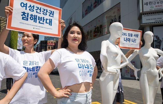 韓国でプラスサイズモデルの国内第1号として知られる、キム・ジヤンさん