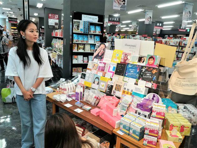 生理用品のセレクトショップ「illuminate」青山ブックセンターで始まる。ファンシーもカッコいいも、選べる時代が来た