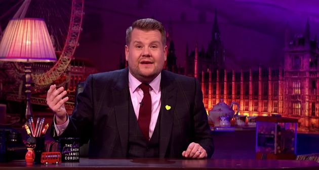 James Corden Urges Viewers: 'We Need To Keep Talking About Grenfell'