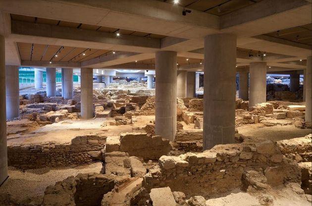 Άποψη της αρχαιολογικής...
