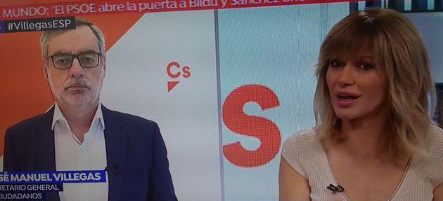 Valls acusa a Cs de