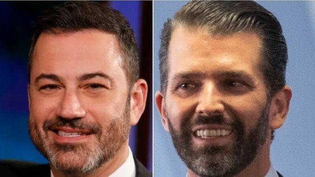 Jimmy Kimmel, Donald Trump Jr.