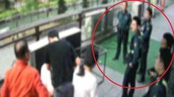 폭행 상황을 지나친 경찰관이 또 있었다 (CCTV