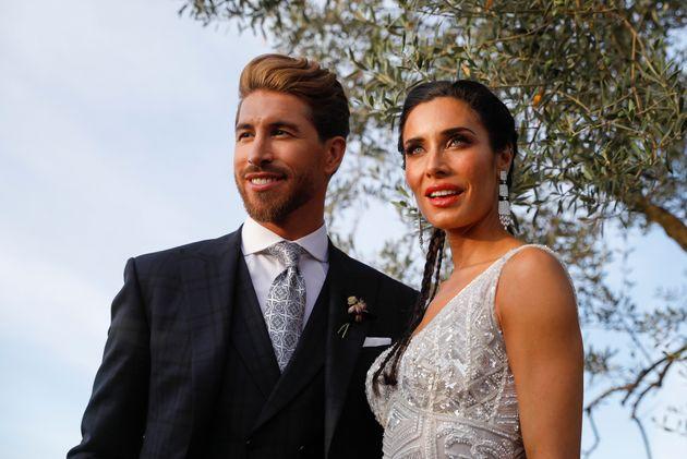 Un trabajador de la boda de Sergio Ramos y Pilar Rubio ataca en 'Sálvame' a la pareja por el trato recibido:...