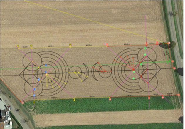 Ces crop circles en Alsace n'ont rien de