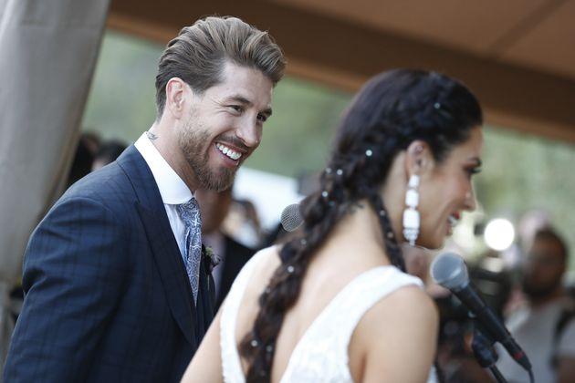 Un famoso se sincera sobre la boda de Sergio Ramos y Pilar Rubio: