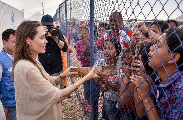El alegato de Angelina Jolie por los refugiados: