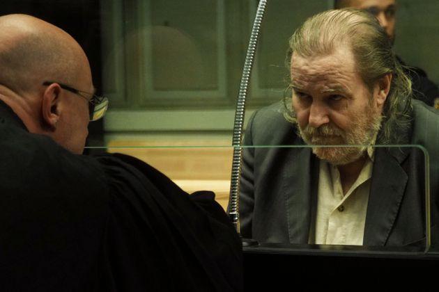 Jacques Rançon au tribunal, en mars