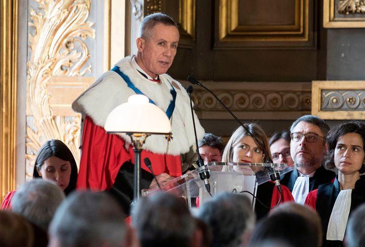 Procureur auprès de la Cour de cassation, François Molins préconise de casser la décision de reprise des traitements de Vincent Lambert.