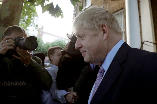 Boris Johnson candidat à la succession de Theresa May, Londres, juin