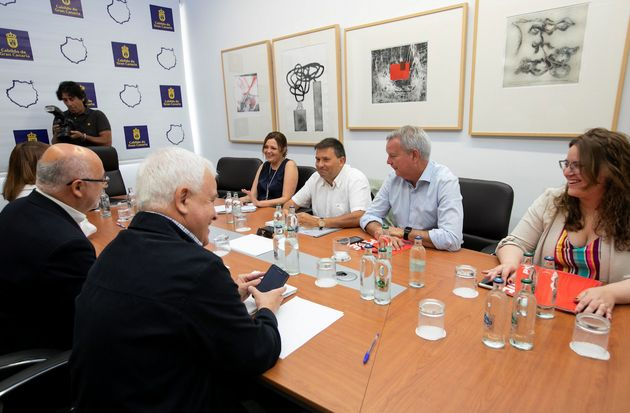 PSOE, NC, Podemos y ASG alcanzan un acuerdo para un pacto en