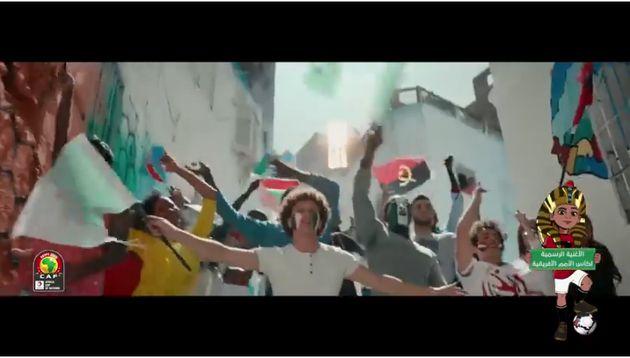 Sur le clip officiel de la CAN, la RASD s'invite sur une carte du Maroc