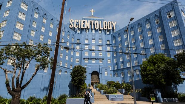 Church of Scientology Building on 4810 Sunset Blvd. in Los Angeles. (Photo by Ted Soqui/Corbis via Getty Images)