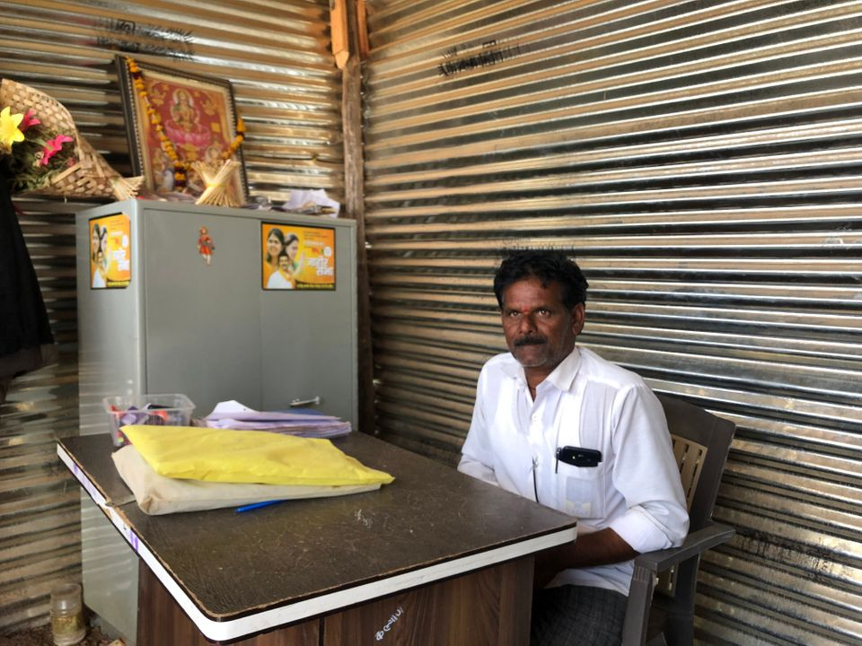 Kaylan Pawar, a small-time farmer from Beed, heads an organisation which is running 11 fodder
