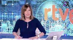 Ana Blanco hace historia en el Telediario de TVE: