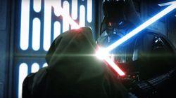 Así sería la mítica lucha entre Darth Vader y Obi Wan si se hubiera rodado