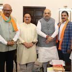 Major Setback For Chandrababu Naidu's TDP As 4 MPs Join