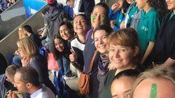 Des supportrices de l'Argentine refoulées du Parc des Princes pour avoir porté du