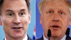 Boris Johnson y Jeremy Hunt, candidatos finales para suceder a May al frente del Partido