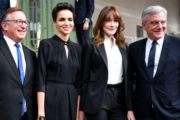 Comme Brigitte Macron, ils ont rendu hommage à Karl