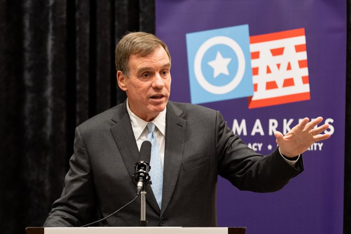Senator Mark Warner (D-VA) was among those briefed by the U.S. Navy on Wednesday about confidential UFO sightings.
