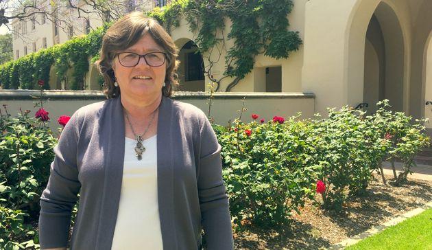 Lucy Jones à Caltech, près de Los