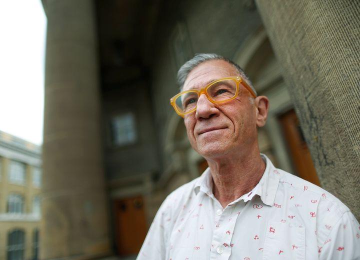 Ron Rosenes at the University of Toronto June 25, 2014.