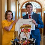 Trudeau Politely Dunks On Pelosi While Settling Their NBA Finals