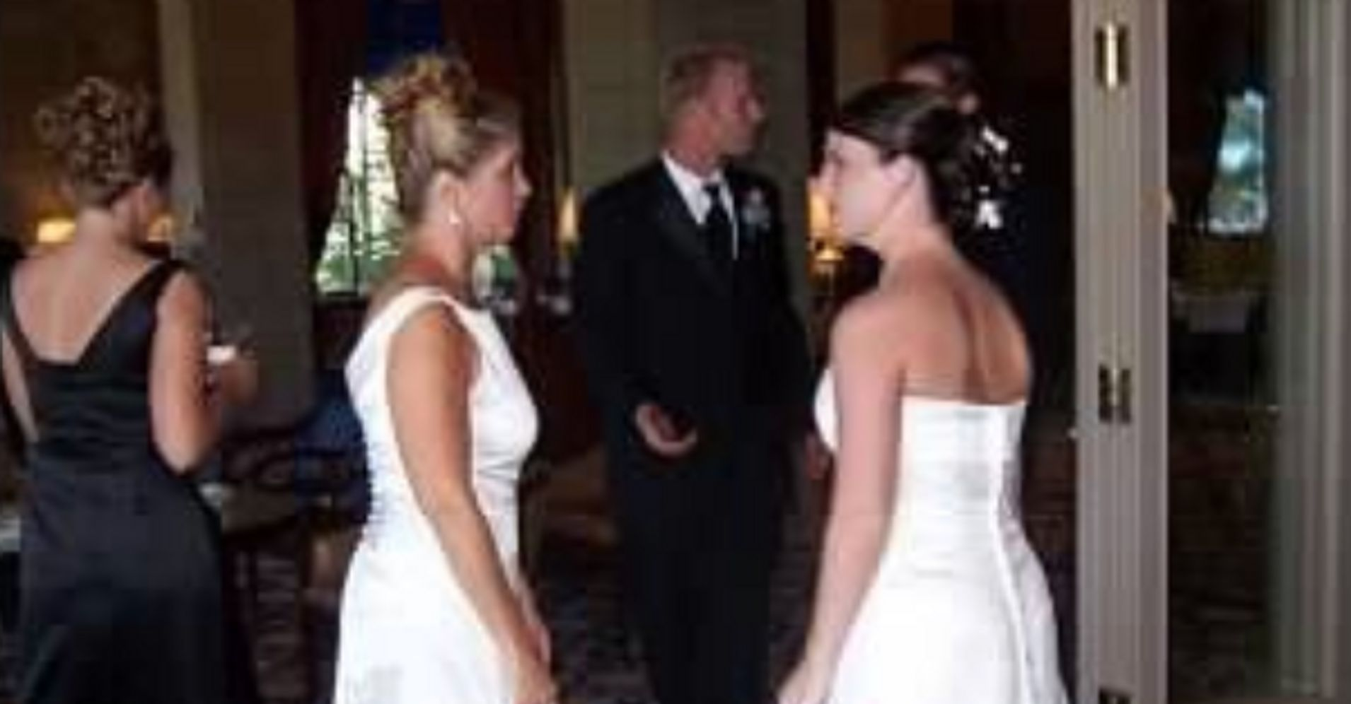 53cbadd256627 The Story Behind The Bride Whose Mother-In-Law Came To Her Wedding In A Wedding  Dress | HuffPost