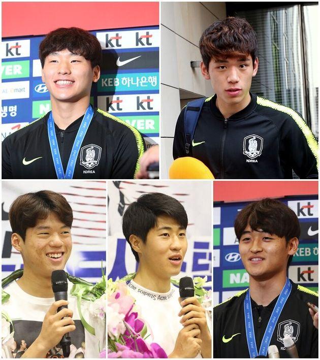 MBC '라디오스타'에 출연하는 U-20 한국 대표팀 이광연, 오세훈, 최준, 김현우,