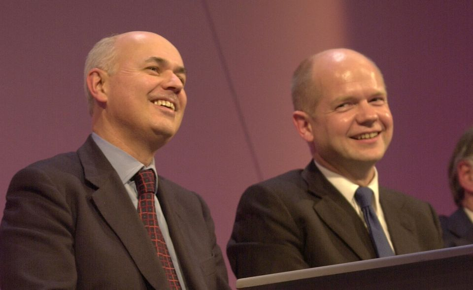 Iain Duncan Smith and William Hague in