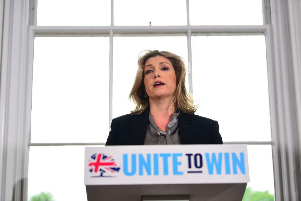 Defence secretary Penny Modaunt, a Hunt