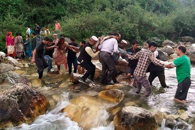 44 Dead, 34 Injured As Bus Falls Into Drain In Himachal Pradesh's