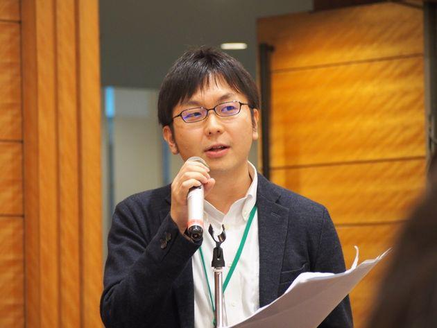 LGBT法連合会・神谷悠一事務局長